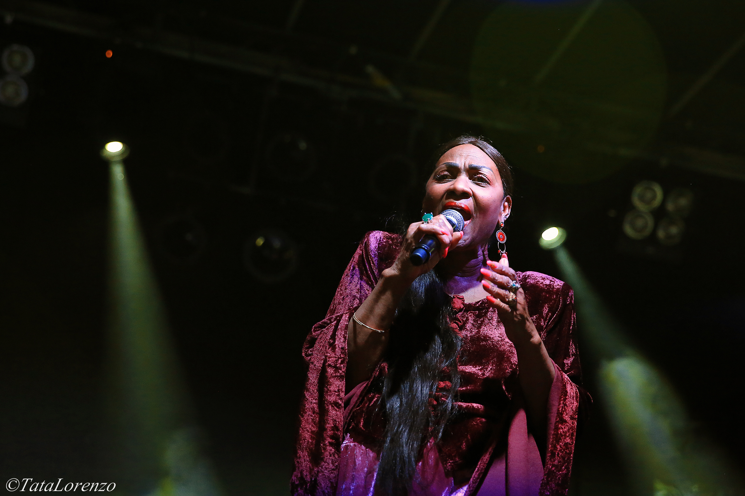 Marcia Barrett On Stage 2014 P