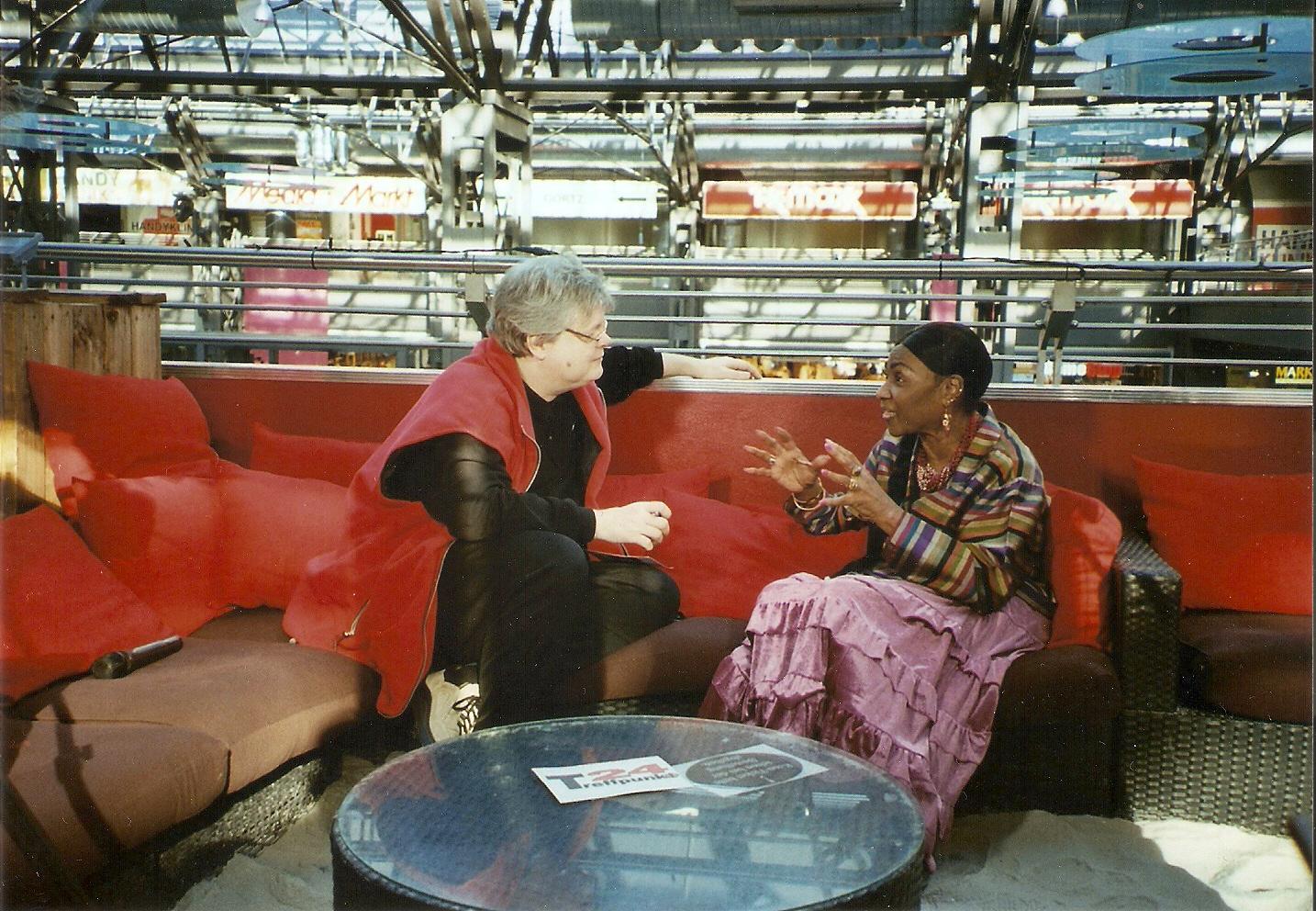 My interview at Treffpunkt 24 in Berlin.